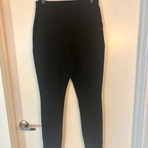 "Crepe ""super stretch"" skinny pants"